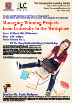 Managing Winning Projects from University to the Workplace