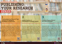 Publishing Your Research Series 2020